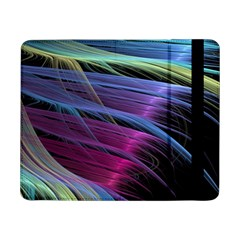 Abstract Satin Samsung Galaxy Tab Pro 8 4  Flip Case by Onesevenart