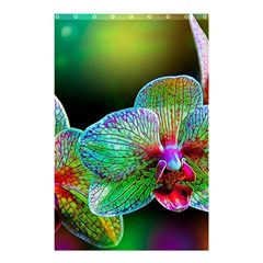 Alien Orchids Floral Art Photograph Shower Curtain 48  X 72  (small)  by Onesevenart
