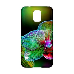 Alien Orchids Floral Art Photograph Samsung Galaxy S5 Hardshell Case  by Onesevenart