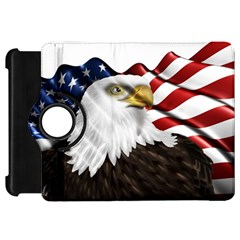 American Eagle Flag Sticker Symbol Of The Americans Kindle Fire Hd 7  by Onesevenart