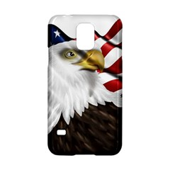American Eagle Flag Sticker Symbol Of The Americans Samsung Galaxy S5 Hardshell Case  by Onesevenart