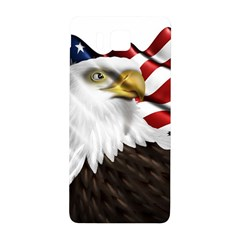 American Eagle Flag Sticker Symbol Of The Americans Samsung Galaxy Alpha Hardshell Back Case by Onesevenart