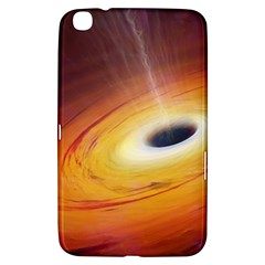 Black Hole Samsung Galaxy Tab 3 (8 ) T3100 Hardshell Case  by Onesevenart