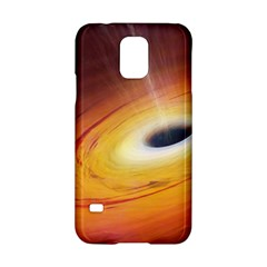 Black Hole Samsung Galaxy S5 Hardshell Case  by Onesevenart