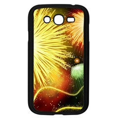 Celebration Colorful Fireworks Beautiful Samsung Galaxy Grand Duos I9082 Case (black) by Onesevenart