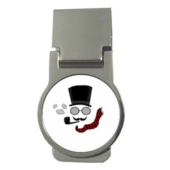 Invisible Man Money Clips (round)  by Valentinaart