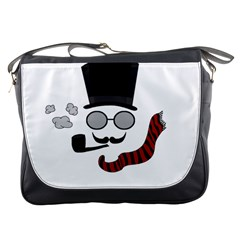 Invisible Man Messenger Bags by Valentinaart