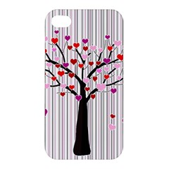 Valentine s Day Tree Apple Iphone 4/4s Hardshell Case by Valentinaart