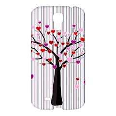Valentine s Day Tree Samsung Galaxy S4 I9500/i9505 Hardshell Case by Valentinaart