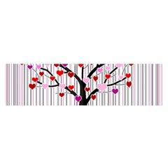 Valentine s Day Tree Satin Scarf (oblong) by Valentinaart