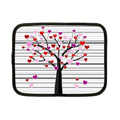Love Tree Netbook Case (small)  by Valentinaart