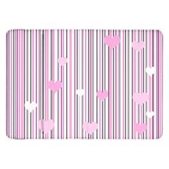 Pink Love Samsung Galaxy Tab 8 9  P7300 Flip Case by Valentinaart