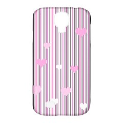 Pink Love Samsung Galaxy S4 Classic Hardshell Case (pc+silicone) by Valentinaart