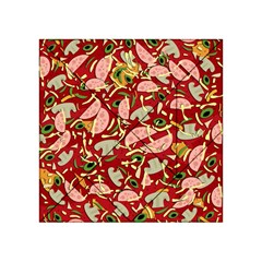 Pizza Pattern Acrylic Tangram Puzzle (4  X 4 ) by Valentinaart