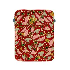 Pizza Pattern Apple Ipad 2/3/4 Protective Soft Cases by Valentinaart