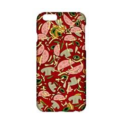 Pizza Pattern Apple Iphone 6/6s Hardshell Case by Valentinaart