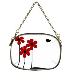 Flowers Chain Purses (one Side)  by Valentinaart