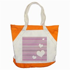 Pink Valentines Day Design Accent Tote Bag by Valentinaart