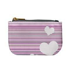 Pink Valentines Day Design Mini Coin Purses by Valentinaart