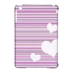 Pink Valentines Day Design Apple Ipad Mini Hardshell Case (compatible With Smart Cover) by Valentinaart