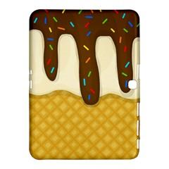 Ice Cream Zoom Samsung Galaxy Tab 4 (10 1 ) Hardshell Case  by Valentinaart