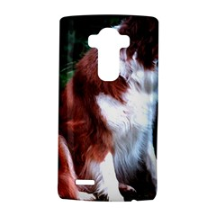 Border Collie Sitting 2 LG G4 Hardshell Case by TailWags