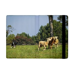 Border Collie Working Apple iPad Mini Flip Case by TailWags