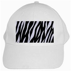 Skin3 Black Marble & White Marble White Cap by trendistuff