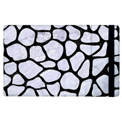Skin1 Black Marble & White Marble Apple Ipad 3/4 Flip Case by trendistuff