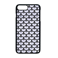 SCA3 BK-WH MARBLE (R) Apple iPhone 7 Plus Seamless Case (Black)