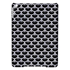 Scales3 Black Marble & White Marble Apple Ipad Air Hardshell Case by trendistuff