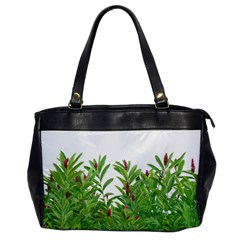 Tropical Floral Print Office Handbags by dflcprints