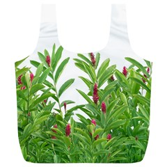 Tropical Floral Print Full Print Recycle Bags (l)  by dflcprints