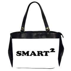 Smarted Conceptual Typographic Design Office Handbags (2 Sides)  by dflcprints