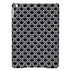 Scales2 Black Marble & White Marble Apple Ipad Air Hardshell Case by trendistuff