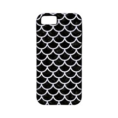 Scales1 Black Marble & White Marble Apple Iphone 5 Classic Hardshell Case (pc+silicone) by trendistuff