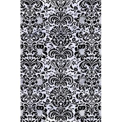 Damask2 Black Marble & White Marble (r) 5 5  X 8 5  Notebook by trendistuff