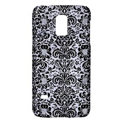 Damask2 Black Marble & White Marble (r) Samsung Galaxy S5 Mini Hardshell Case  by trendistuff