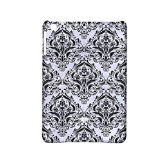 Damask1 Black Marble & White Marble (r) Apple Ipad Mini 2 Hardshell Case by trendistuff