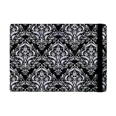 Damask1 Black Marble & White Marble Apple Ipad Mini 2 Flip Case by trendistuff