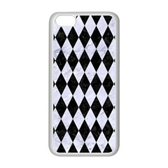 Diamond1 Black Marble & White Marble Apple Iphone 5c Seamless Case (white) by trendistuff