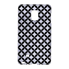 Circles3 Black Marble & White Marble (r) Samsung Galaxy Note Edge Hardshell Case