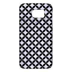 Circles3 Black Marble & White Marble (r) Samsung Galaxy S6 Hardshell Case  by trendistuff