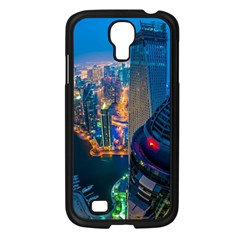 City Dubai Photograph From The Top Of Skyscrapers United Arab Emirates Samsung Galaxy S4 I9500/ I9505 Case (black) by Onesevenart
