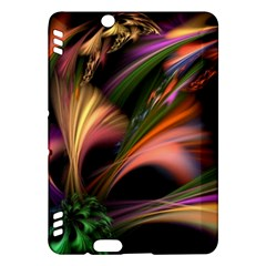 Color Burst Abstract Kindle Fire Hdx Hardshell Case by Onesevenart