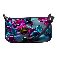 Colorful Balls Of Glass 3d Shoulder Clutch Bags by Onesevenart