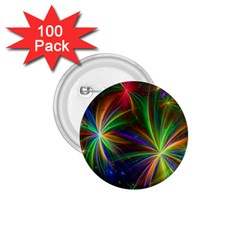 Colorful Firework Celebration Graphics 1 75  Buttons (100 Pack)  by Onesevenart
