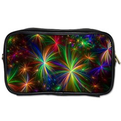 Colorful Firework Celebration Graphics Toiletries Bags 2 Side by Onesevenart