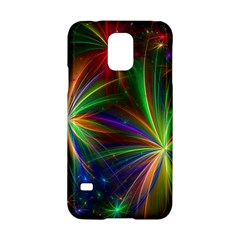 Colorful Firework Celebration Graphics Samsung Galaxy S5 Hardshell Case  by Onesevenart