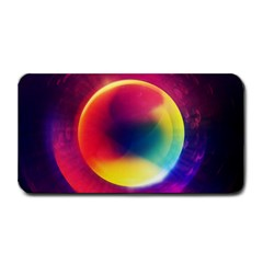 Colorful Glowing Medium Bar Mats by Onesevenart